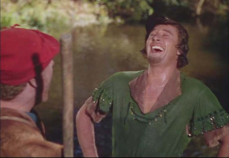 Robin Hood Laughing Heartily