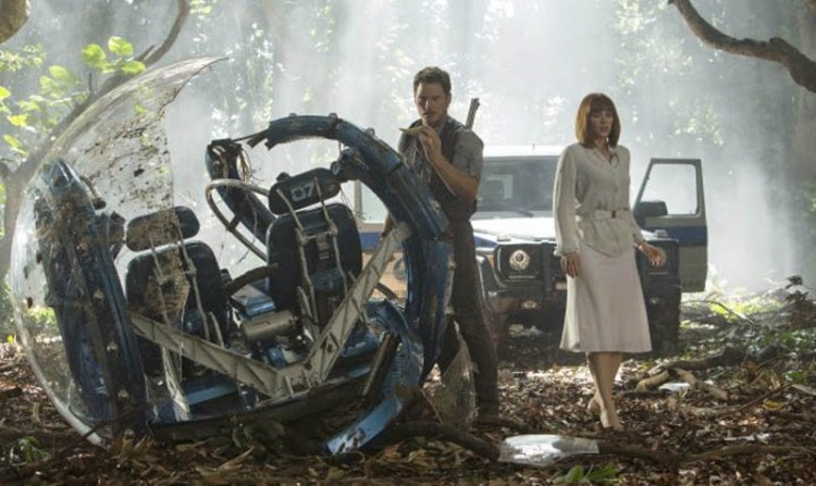 Jurassic World 2015 Chris Pratt Bryce Dallas Howard