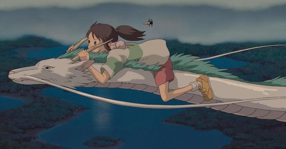 Spirited Away 2001 Blu Ray Review Psycho Drive In