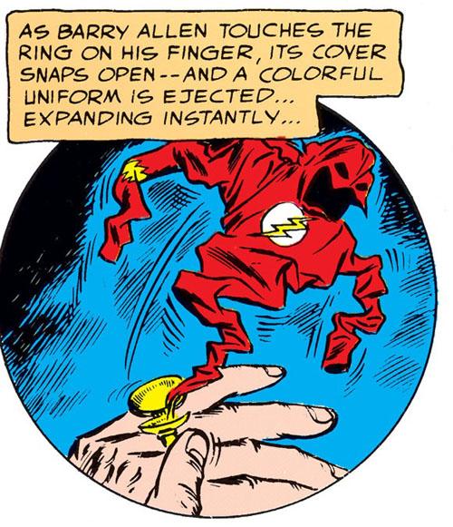 flash costume ring
