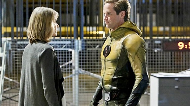 the flash return of the reverse flash 1