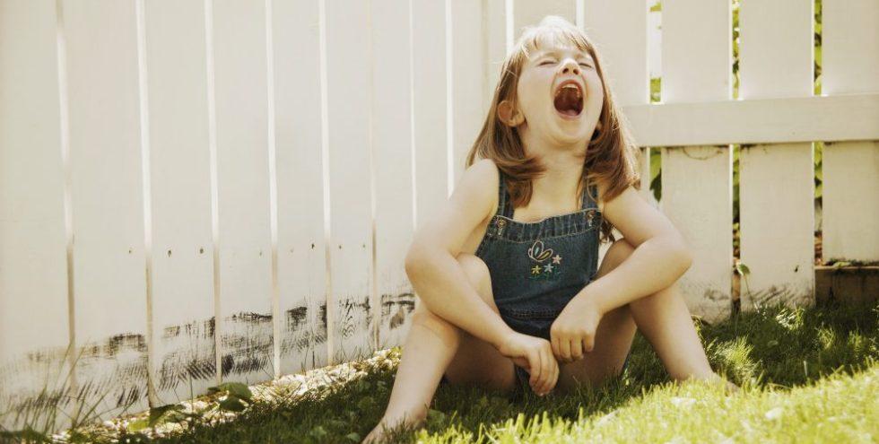 woedeaanvallen bij kinderen - meisje 7 jaar