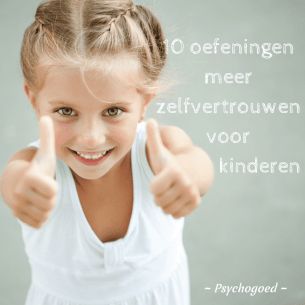 10 oefeningen voor meer zelfvertrouwen voor kinderen