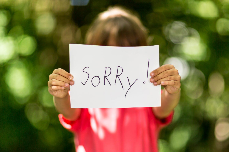 7 Tips In Plaats Van Sorry Te Laten Zeggen