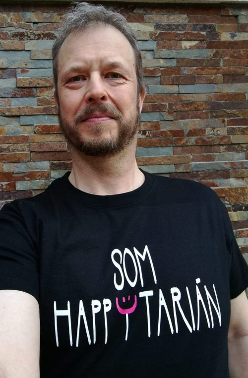 tričko som happytarián