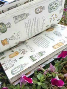20180923_2306391556958174-225x300 Dom Montessori Parzyziółko – zielarska pracownia oraz przepisy na domowe mikstury. Nowość od Wydawnictwa TADAM. Wrzesień 2018. 6+