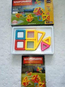 15407585195891811185217-575x1024 Pomysł na prezent: Klocki Magnetyczne Magformers dla małych i dużych.
