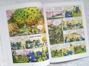 20181108_0943331276085937-1024x576 TAKIE Komiksy są super! 6 w 1 od EGMONT: Ernest i Rebeka. Lou!. Codziennik,  Ptyś i Bill, Smerfy i wioska dziewczyn!