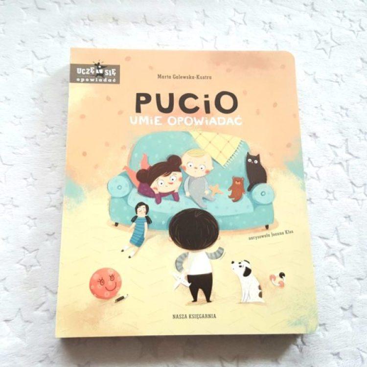 20190916_0805561847476690-1024x1024 Pucio umie opowiadać – 5 część bestsellerowej serii dla najmłodszych od Nasza Księgarnia. JESIEŃ 2019