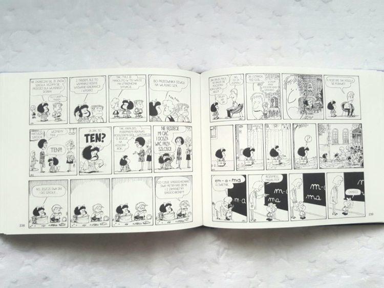 20200121_111036513221643-1024x768 Mafalda. Wszystkie komiksy. Tom 1 – paski komiksów na 344 stronach. Nasza Księgarnia STYCZEŃ 2020