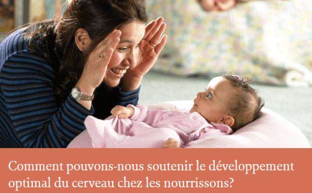 Comment pouvons-nous soutenir le développement optimal du cerveau chez les nourrissons ? 2