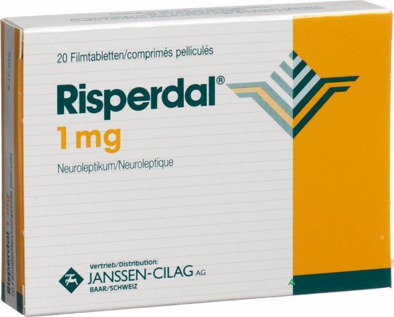 Risperdal / rispéridone : Indications, effets secondaires 1