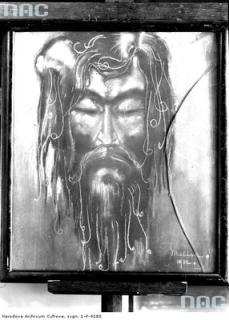obraz namalowany przez Jana Malisza 1932 r.