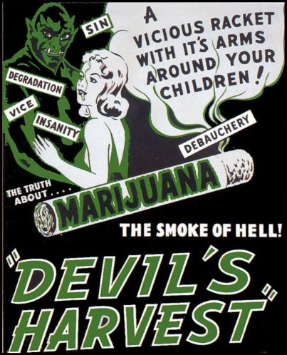 Marijuana - devil's harvest
