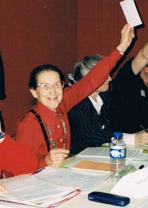 Liliane Imbert en 1988
