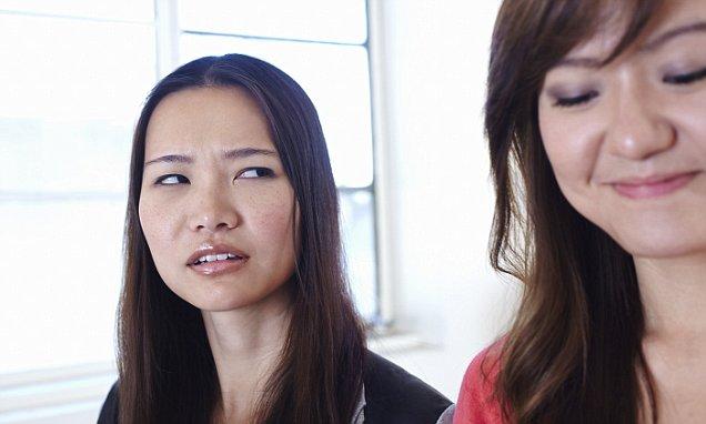 Woman jealousy office