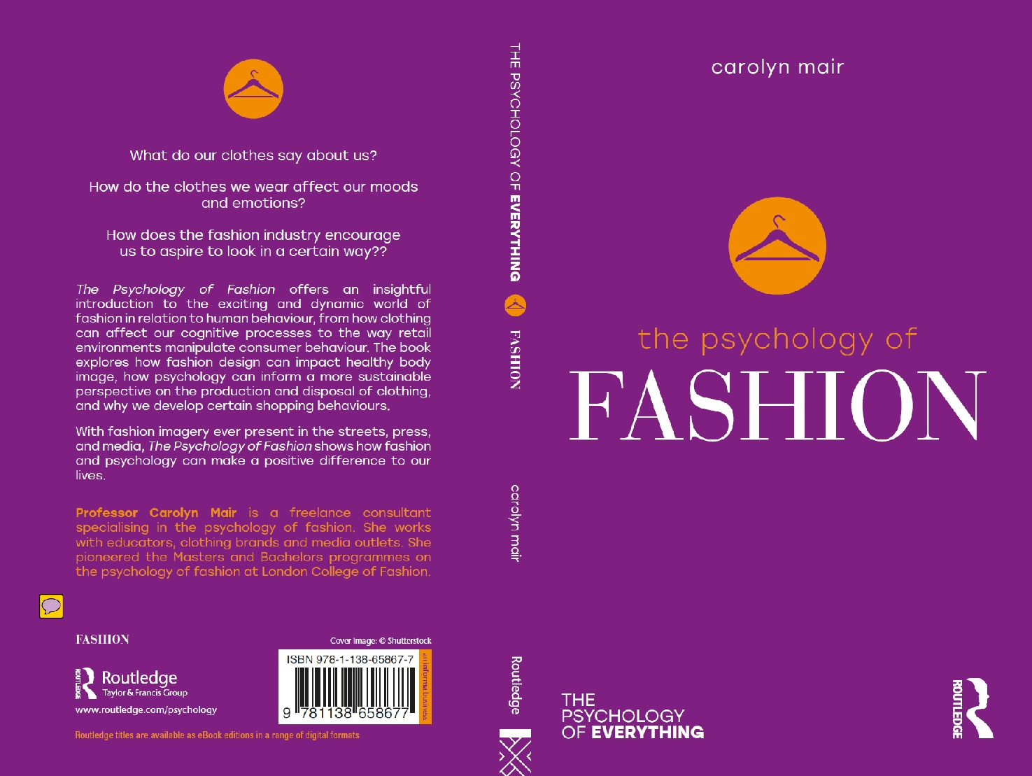 Book Cover Of Fashion ~ New book u psychology fashion