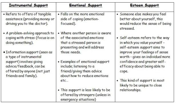 Social Factors Affecting Stress