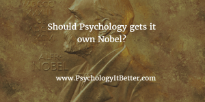Nobel Prize in Psyhcology