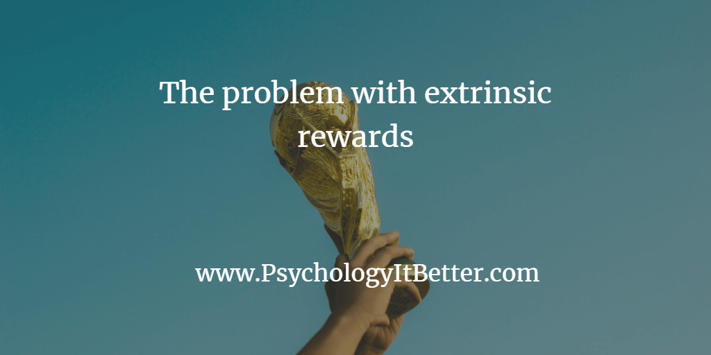 Intrinsic motivation and extrinsic rewards