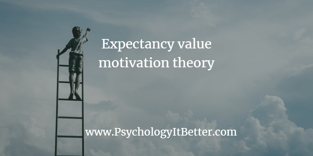 Expectancy value approaches to motivation