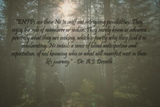 ENFP quote AJ Drenth