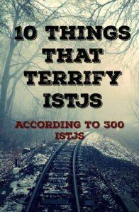 ISTJ Fears