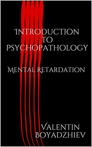 Introduction to Psychopathology: Mental Retardation Book