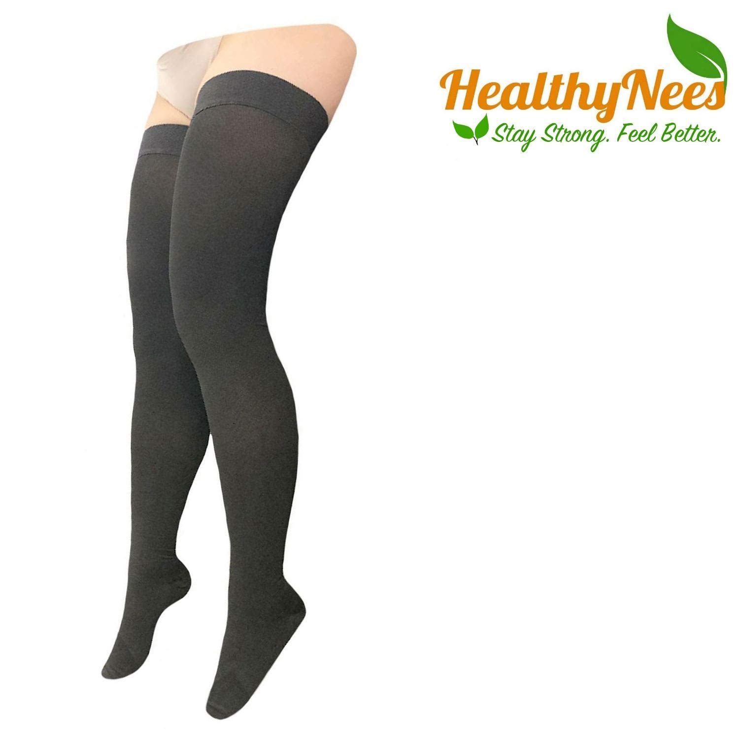 Healthynees Thigh Closed Toe 20 30 Mmhg Compression Full