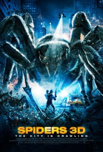 Horror Movie Poster – Spiders 3D