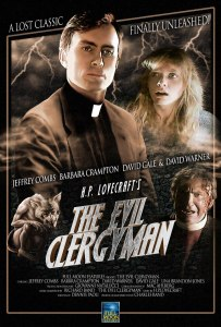 Horror Movie Poster – The Evil Clergyman