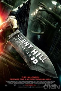 Horror Movie Poster – Silent Hill: Revelation 3D