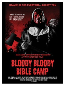 Horror Movie Poster & Trailer – Bloody Bloody Bible Camp