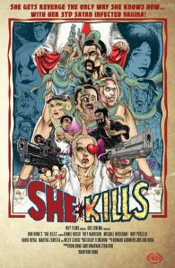 Horror Movie Trailer & Poster – She Kills