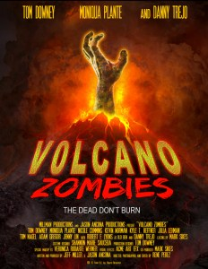 Horror Movie Poster & Trailer – Volcano Zombies