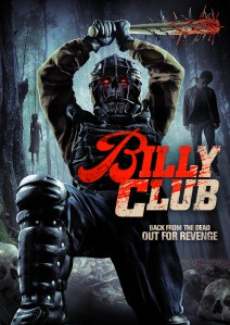 Billy Club – trailer, DVD artwork, and stills