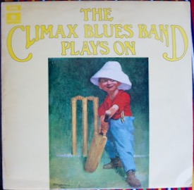 CLIMAX CHICAGO BLUES BAND THE CLIMAX BLUES BAND PLAYS ON Rare Black/Yellow label 1st press, sticker remains on label from promo sticker, small corner bend, great album £90 M--/M- PARLOPHONE PCS 7084 LP