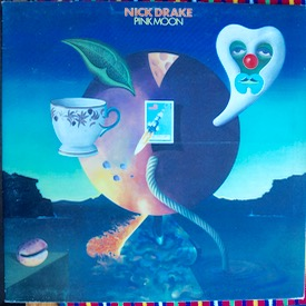 NICK DRAKE PINK MOON UK original, Witch logo, vinyl super, small faded name to one label, cover has what looks like a light crease around the middle but only on the outer side, manufacturing slight fault ? £350 M--/M- ISLAND ILPS 9184 LP