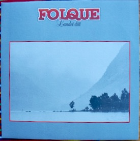 FOLQUE LANDET DITT Norwegian female/male electric folk, maybe their rarest, not many have seen this, from 81, with lyric inner sleeve £100 M-/M- TALENT TLS 4046 LP