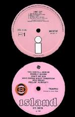 Island pink label