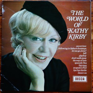 EX grade cover Kathy Kirby Grade our records