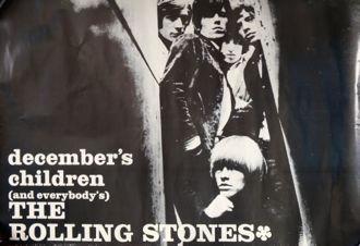 Rolling Stones December's Children poster