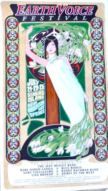 Earth Voice Festival poster