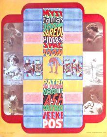 Bernard Schofield pop art poster