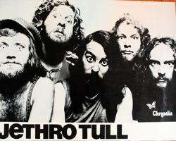 Jethro Tull promo poster