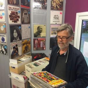 Dan Olsen from Uppsala in Sweden visits the shop