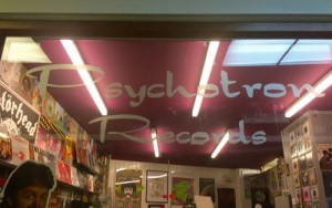 New logo on window of the shop