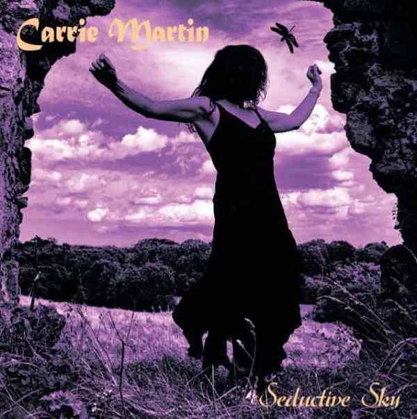 Carrie Martin Seductive Sky album cover