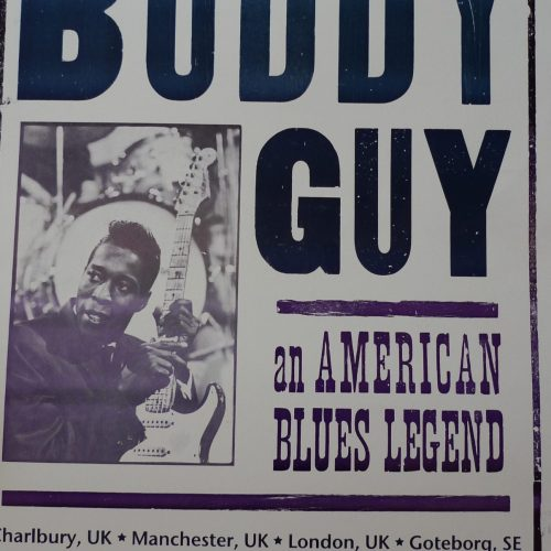Buddy Guy an american blues legend