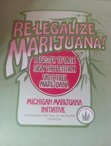 Vote free Marijuana Michigan